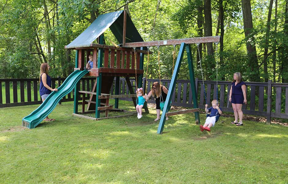 Enjoy family fun at the playground