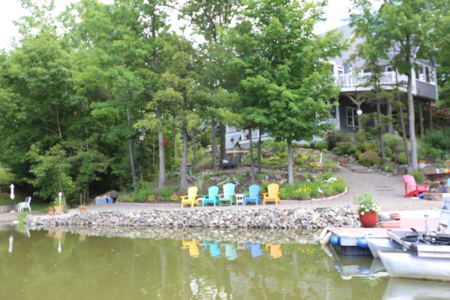 Our lakeside community includes access to Sleepy Hollow Lake