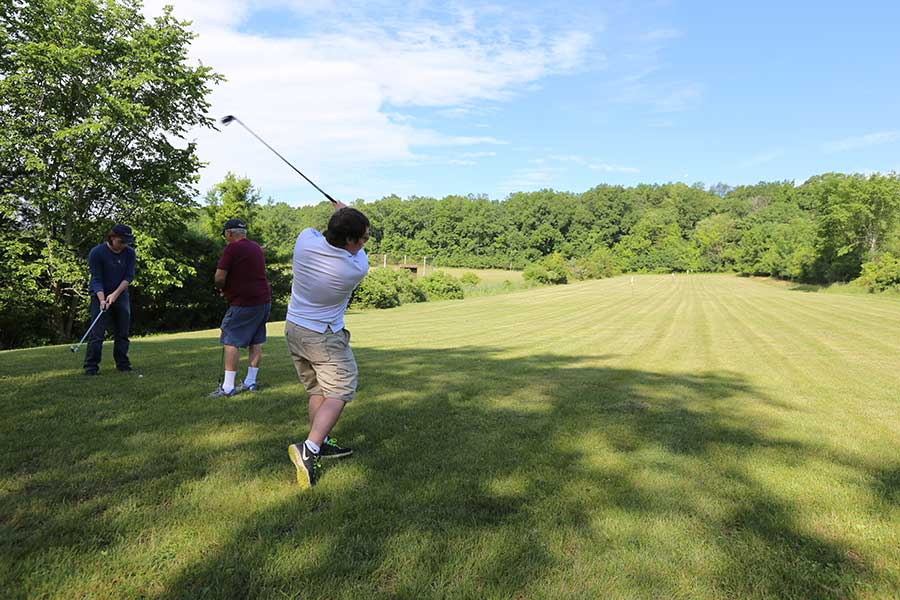 When you buy a home at Sleepy Hollow lake you will enjoy our driving range