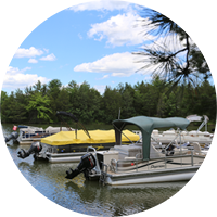 Boat docks and launches are part of the facilities and services offered at Sleepy Hollow Lake in Athens NY