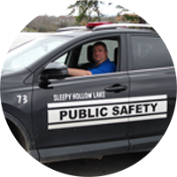 Public Safety patrols are part of the facilities and services offered at Sleepy Hollow Lake in Athens NY