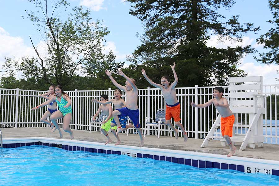 Enjoy two pools along with other facilities and services found at Sleepy Hollow Lake in Athens NY