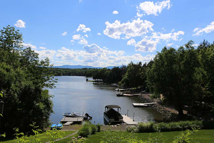Sleepy Hollow Lake governance sets the docking size and spacing on the lake